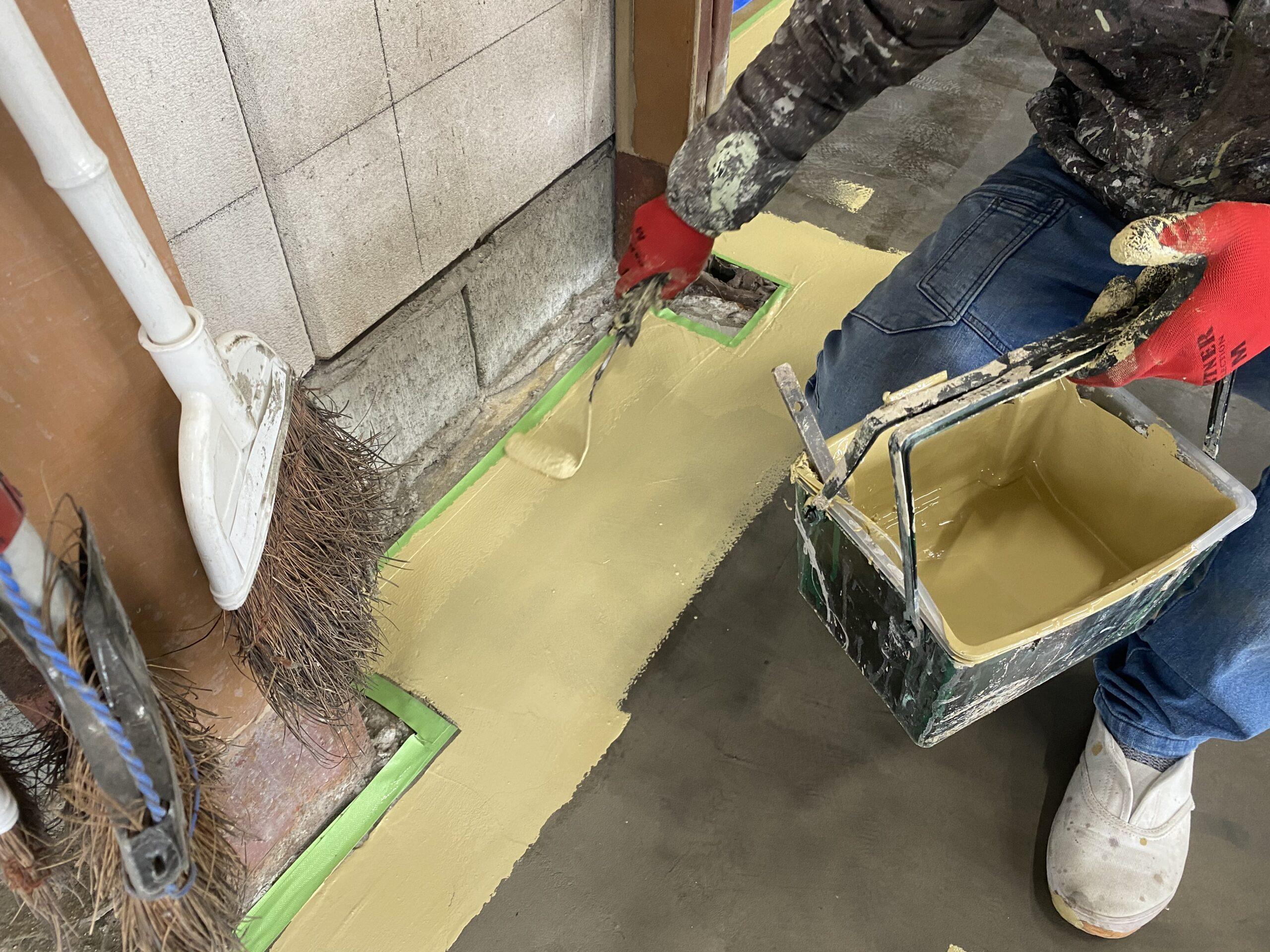 ☆工場の塗り床☆