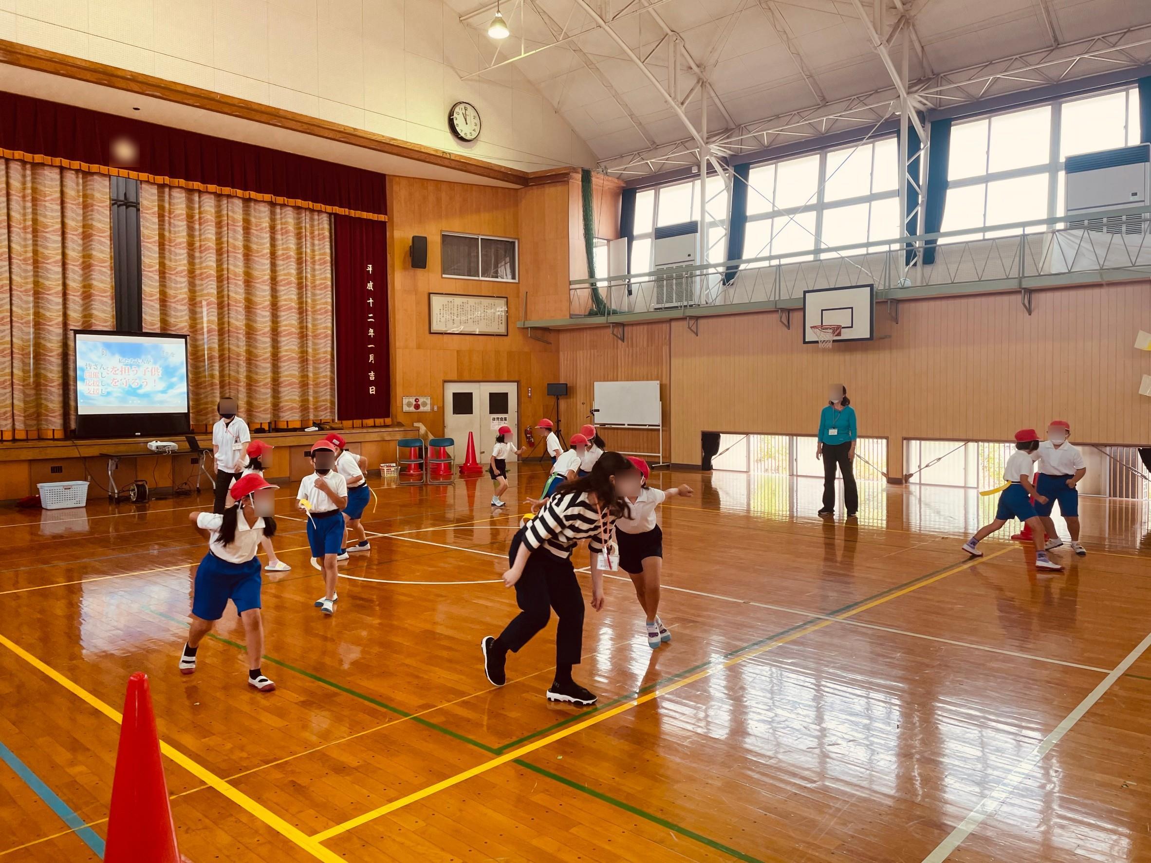 直方市 の 防犯スポーツ教室 に行って参りました!