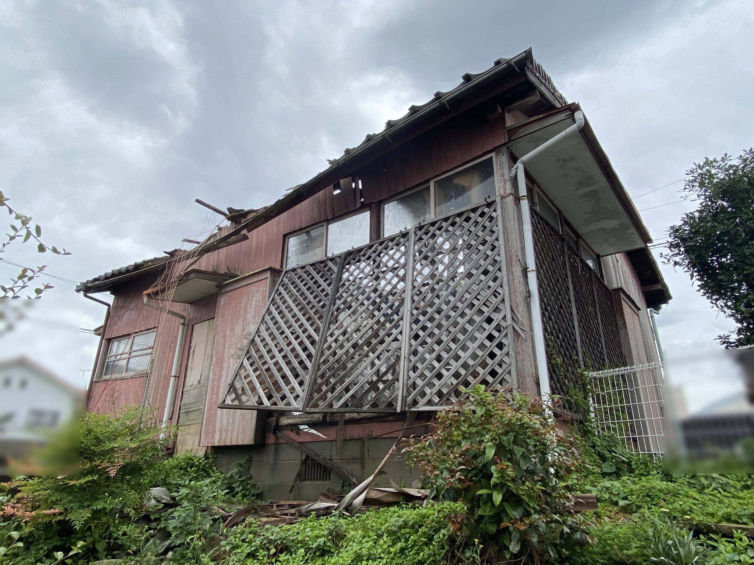 田川市 住宅解体工事 行いました!